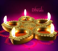 New-Shubh-Dipawali-Wishes-Greeting-Candles-Image